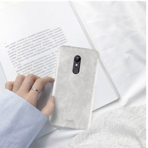 MOFI for Xiaomi Redmi 5 Crazy Horse Texture Leather Surface Protective Back Cover Case(White) (MOFI)