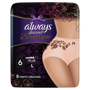 Always discreet boutique pants large 8 τεμαχίων