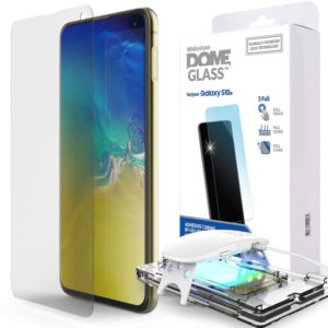 WHITESTONE DOME Γυαλί προστασίας Fullcover 3D 9H 0.33MM FULL CURVED για Samsung Galaxy S10E - ΔΙΑΦΑΝΟ