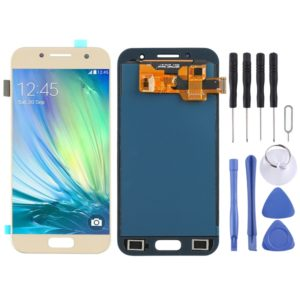LCD Screen and Digitizer Full Assembly (TFT Material) for Galaxy A3 (2017), A320FL, A320F, A320F/DS, A320Y/DS, A320Y (Gold)