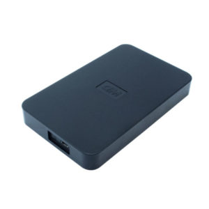 Hard disc case, No brand, for 2.5 disc, Micro USB , Black - 17319