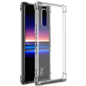 For Sony Xperia 5 IMAK All-inclusive Shockproof Airbag TPU Case, with Screen Protector(Transparent) (imak)