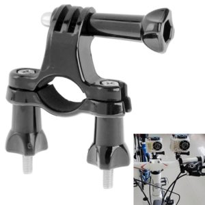 ST-01 Bicycle Bike Ride Handlebar / Seatpost Pole Mount for GoPro NEW HERO /HERO6 /5 Session /5 /4 Session /4 /3+ /3 /2 /1, Xiaoyi Sport Cameras(Black)