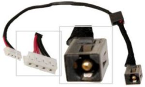 Βύσμα Τροφοδοσίας DC Power Jack Socket LENOVO G580 DC JACK WITH CABLE (κωδ.3204)