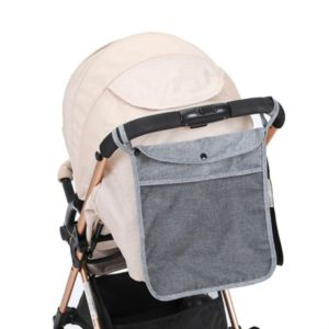 Baby Trolley Net Bag Storage Bag Universal Baby Care(Gray)