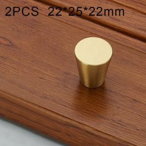 2 PCS 1019 Light Luxury Nordic Solid Copper Cabinet Handle