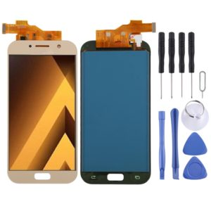 LCD Screen and Digitizer Full Assembly (TFT Material) for Galaxy A5 (2017), A520F, A520F/DS, A520K, A520L, A520S(Gold)