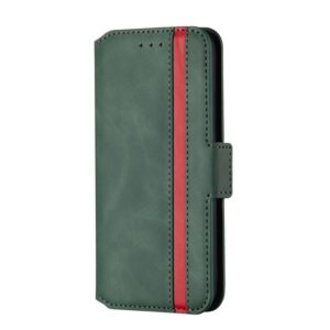 For Huawei Mate 30 Lite Retro Frosted Oil Side Horizontal Flip Case with Holder & Card Slots(Green)