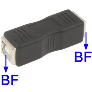 USB 2.0 BF to BF Adapter
