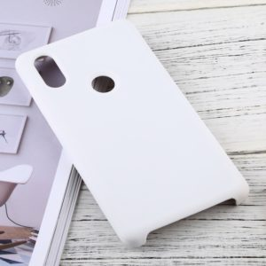 Solid Color Liquid Silicone Dropproof Protective Case for Xiaomi Mi Mix 2S (White)