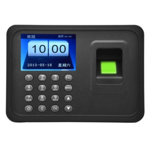 A6 2.4 inch Color TFT Screen Biometric Fingerprint Time Attendance, USB Communication Office Time Attendance Clock