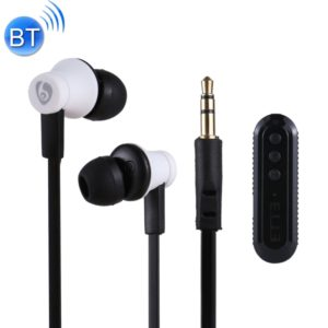OVLENG M8 Sports Lavalier Bluetooth Stereo Earphone, Support TF Card, For iPad, iPhone, Galaxy, Huawei, Xiaomi, LG, HTC and Other Smart Phones (White) (OVLENG)