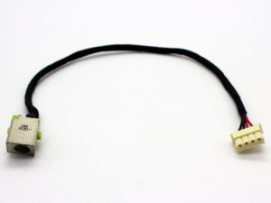 Βύσμα Τροφοδοσίας DC Power Jack Acer Aspire V7-582 V7-582P V7-582PG V7-581 V7-581P V7-482 V7-482P V7-482PG V7-481 V7-481P V5-573 V5-573G V5-573P V5-573PG V5-572 V5-572G V5-572P V5-572PG DC Power Port Jack Socket and Cable (κωδ. 3495)