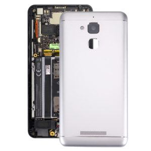Aluminium Alloy Back Battery Cover for ASUS ZenFone 3 Max / ZC520TL(White)