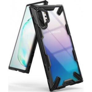 Ringke Ringke Fusion-X Θήκη Samsung Galaxy Note 10 Plus - Black / Transparent (51643)