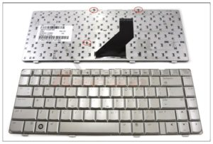 Πληκτρολόγιο Laptop HP COMPAQ dv6000 DV6300 DV6400 DV6500 DV6305US DV6815NR HP 610A20133YM326496 431414 431416 431414-001 431415-001 441426-001 441427-001 452636-001 AEAT1U00010 MP-05583US-9203 US VERSION SILVER KEYBOARD (ΚΩΔ. 40202USSILVER)