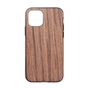 Wood Texture TPU Protective Case for iPhone 11(Red Sandalwood)