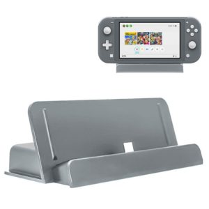 Game Host Charging Stand Holder for Switch Lite(Grey)