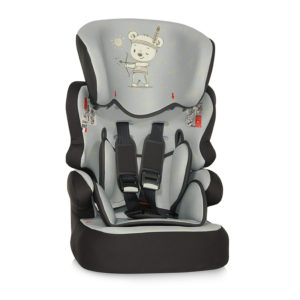 Κάθισμα αυτοκινήτου LoreLLi® X-Drive Plus Grey Indian Bear 9-36 kg