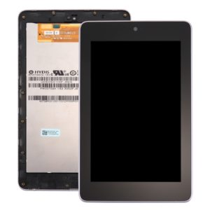LCD Screen and Digitizer Full Assembly with Frame for Google Nexus 7 (1st Generation WiFi Version)(Black)