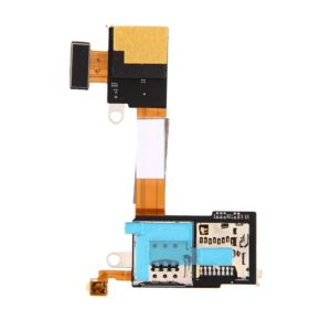 SIM Card Reader Contact Flex Cable Ribbon for Sony Xperia M2 / D2303 / D2305 / D2306