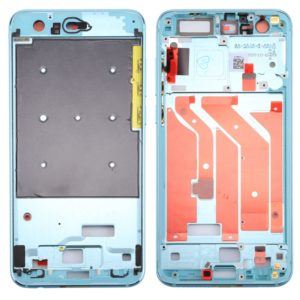 For Huawei Honor 9 Front Housing LCD Frame Bezel Plate(Sky Blue)