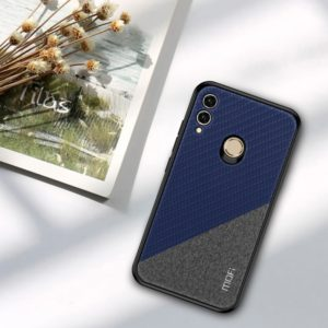 MOFI Honors Series Full Coverage TPU + PC + Cloth Pasted Case for Huawei Honor 8X (Blue) (MOFI)