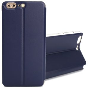 OCUBE for LEAGOO T5 (MPH2417) Spring Texture Horizontal Flip Leather Case with Holder (Dark Blue) (OCUBE)