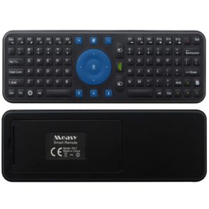 Measy RC7 2.4G USB Wireless Keyboard Gyroscope Air Fly Mouse for Mini PC Android TV Box(Black) (Measy)