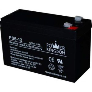 POWERKINGDOM PS6-12 BATTERY PACK UPS 12V 6Ah MΠΑΤΑΡΙΑ ΜΟΛΥΒΔΟΥ POWER KINGDOM PS612