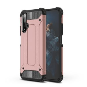 Magic Armor TPU + PC Combination Case for Huawei Honor 20(Rose Gold)