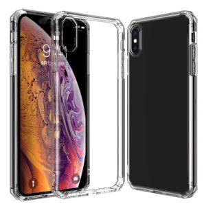 Shockproof Octagonal Airbag Sound Conversion Hole Design TPU Case for iPhone XS Max (Transparent)