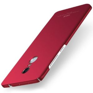 MSVII Ματ Backcover Θήκη (Xiaomi Redmi Note 4X) (Snapdragon) (Simple Red)