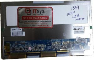 Οθόνη Laptop 10.2 1024x600 WSVGA LED 30pin mini CLAA102NA1BCN ASUS Eee Pc S101 S101H S191H (Κωδ. 1377)