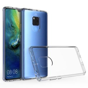 Scratchproof TPU + Acrylic Protective Case for Huawei Mate 20 X(Grey)