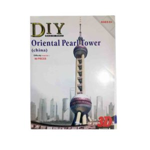 3D Puzzle ANELIXI Oriental Pearl Tower (China) 80pcs (6+) 2801-Y