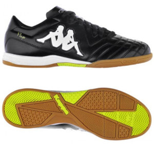 303ILV0 903 Kappa 4 Soccer Player IC Kid (black/yellow)
