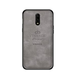 PINWUYO Shockproof Waterproof Full Coverage PC + TPU + Skin Protective Case for One Plus 6T (Grey) (PINWUYO)