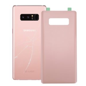 Battery Back Cover with Adhesive for Galaxy Note 8 (Pink)