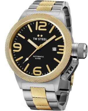 TW Steel CB46 Canteen Automatic Two Tone Stainless Steel Bracelet