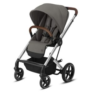 Cybex Βρεφικό Καρότσι Balios S Lux, Soho Grey (Silver Frame)