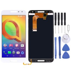 LCD Screen and Digitizer Full Assembly for Alcatel A3 OT5046 5046D 5046X 5046Y(White)