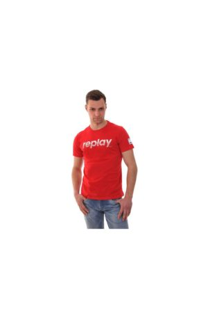 REPLAY T-Shirt M3005 .000.2660 POPPY RED Red