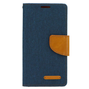 Bookstyle Canvas Case Navy Blue for Samsung Galaxy S10+ (OEM)