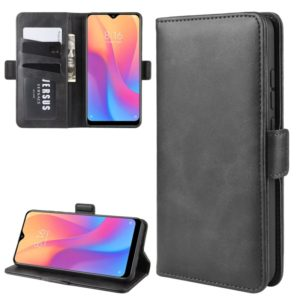 For Xiaomi Redmi 8A Dual-side Magnetic Buckle Horizontal Flip Leather Case with Holder & Card Slots & Wallet & Photo Frame(Black)