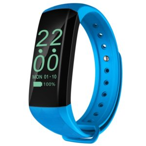 M2Z 0.96 inch OLED Screen Display Bluetooth Smart Bracelet, IP67 Waterproof, Support Pedometer / Blood Pressure Monitor / Heart Rate Monitor / Motion Trajectory, Compatible with Android and iOS Phones (Blue)