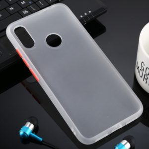 For Xiaomi Redmi Note 7 Skin Hand Feeling Series Anti-fall Frosted PC+ TPU Case(Transparent)