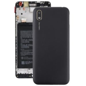 Battery Back Cover with Camera Lens & Side Keys for Huawei Y5 (2019)(Black)
