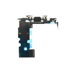 Charging connector flex cable black - Apple iPhone 8 4,7