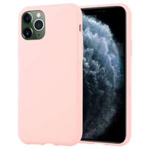 For iPhone 11 Pro Max MERCURY GOOSPERY STYLE LUX Shockproof Soft TPU Case(Pink) (GOOSPERY)